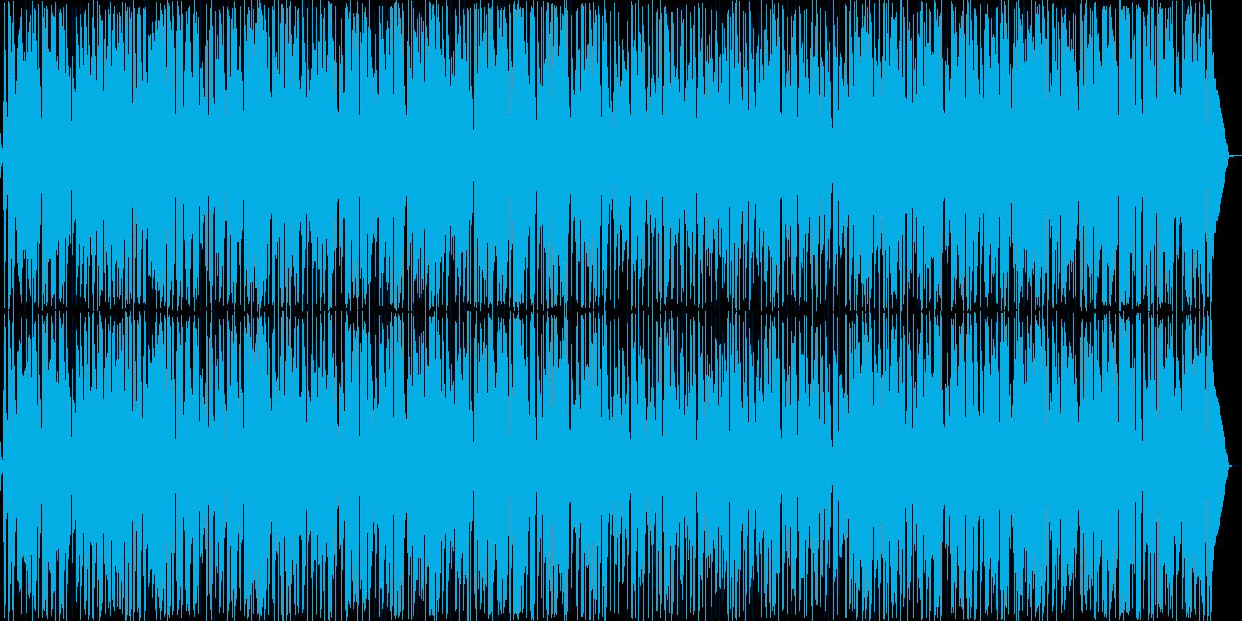 ほのぼの女性ボーカル・ウクレレリコーダーの再生済みの波形
