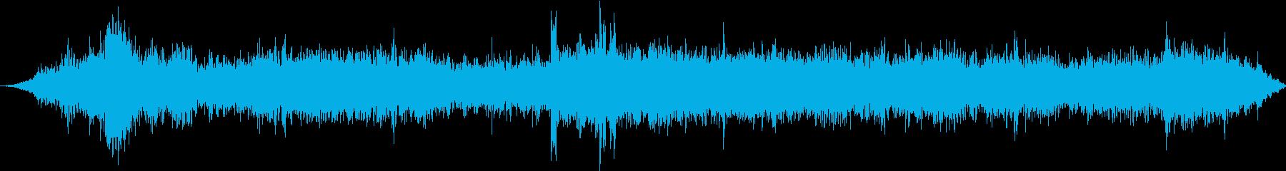 ダッジダート:インテリア:コーナー...の再生済みの波形