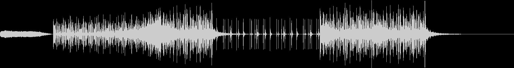 ハッチャケの未再生の波形