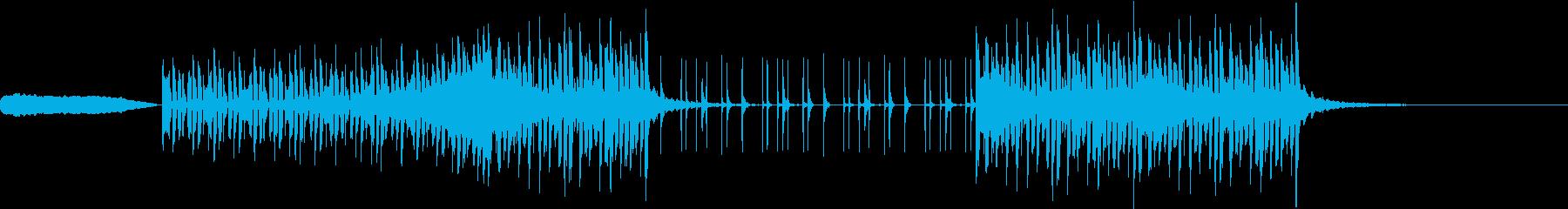 ハッチャケの再生済みの波形