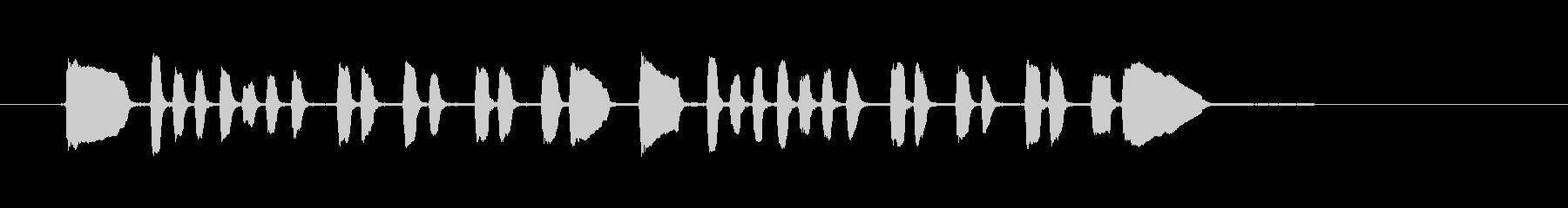 ビューグルオフィサー-軍事、ビュー...の未再生の波形