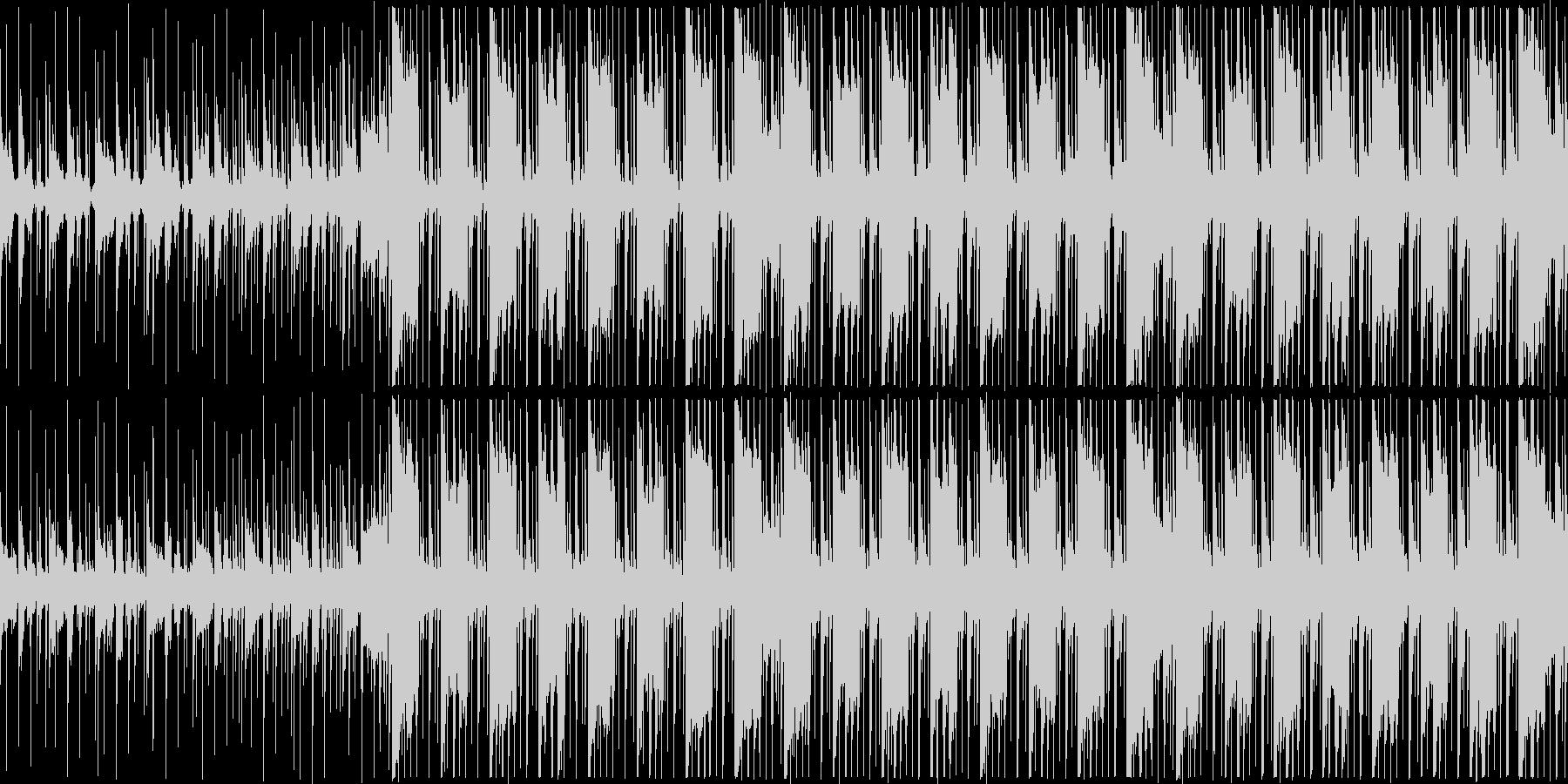 少し機械的な淡々とした/企業VP系06rの未再生の波形