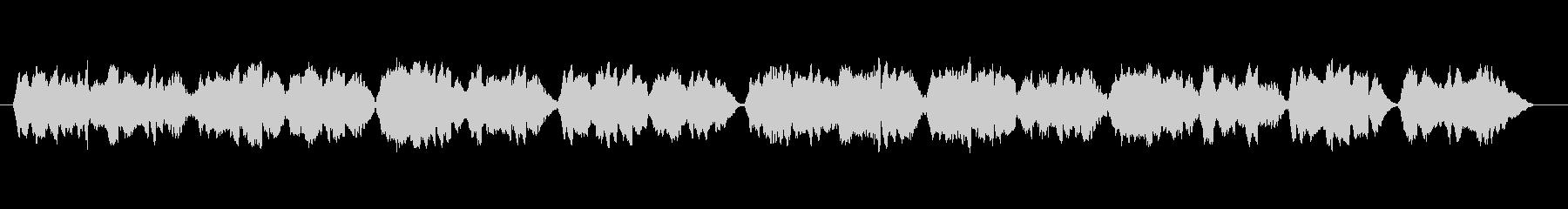 """Nursery rhyme """"Oborozukiyo"""" by unaccompanied violin's unreproduced waveform"""