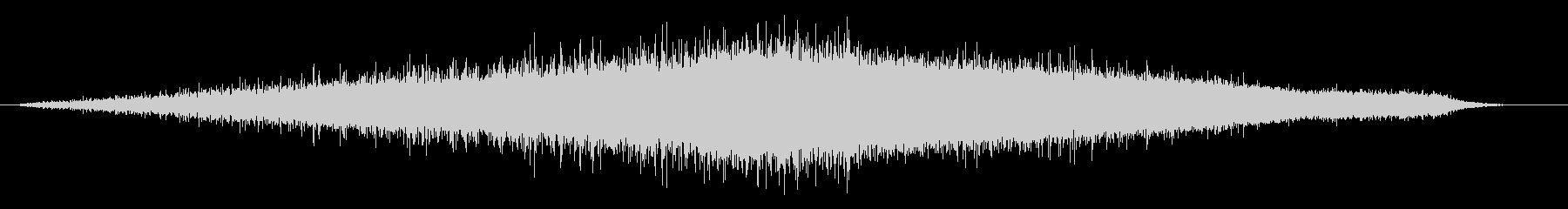 雨の音07の未再生の波形
