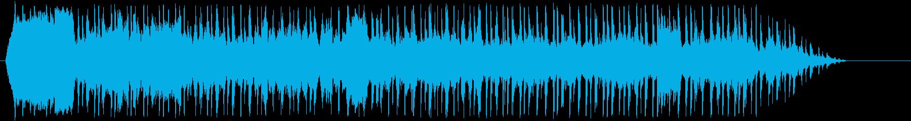 バルーンの再生済みの波形