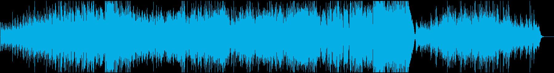 ジャズ、ミュートトランペットソロ、...の再生済みの波形
