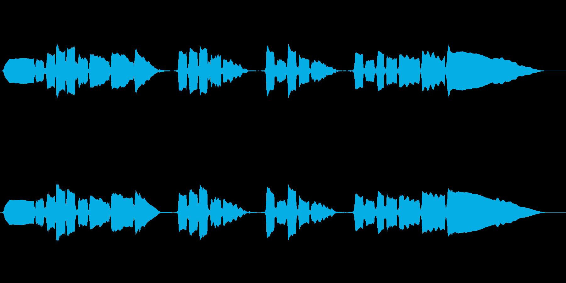 サックスのソロ演奏 切ない系の再生済みの波形