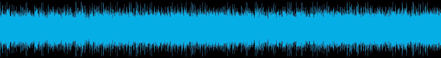 ピアノとバイオリンのさわやかロックの再生済みの波形