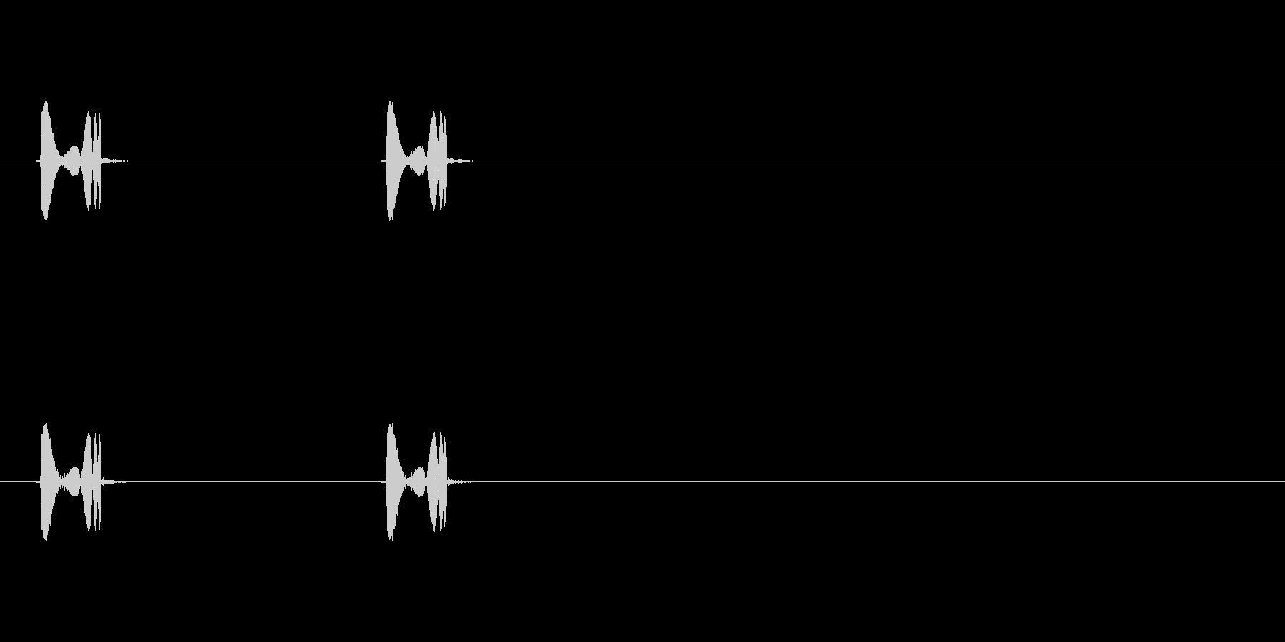 【ポップモーション02-3】の未再生の波形