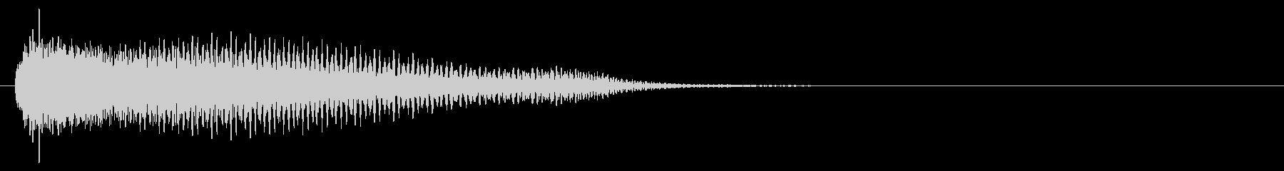電子音系 タッチ音2(複)の未再生の波形
