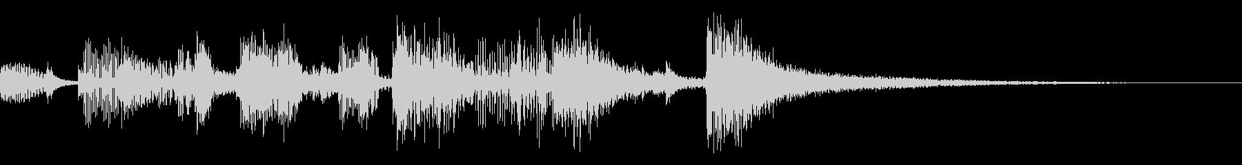【ロゴ】計算機ボサノバ不思議【ジングル】の未再生の波形