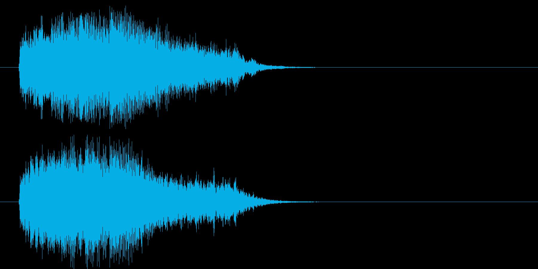 壮大 エンディング 前進 報道 場面転換の再生済みの波形