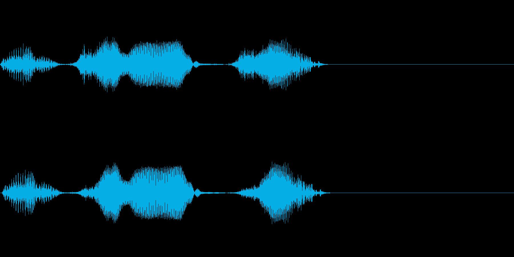 1日(いちにち)(effect)の再生済みの波形