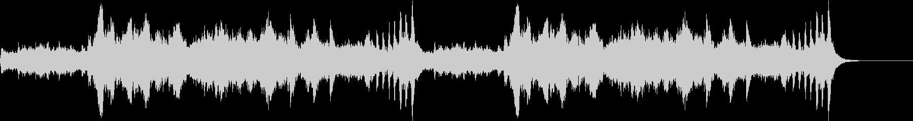 軽快爽やかストリングス ホルベルク組曲の未再生の波形