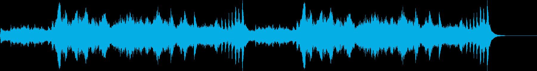 軽快爽やかストリングス ホルベルク組曲の再生済みの波形