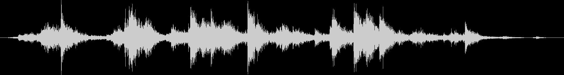 メタル クラッシュミディアム03の未再生の波形