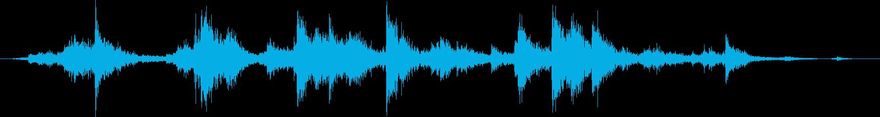 メタル クラッシュミディアム03の再生済みの波形