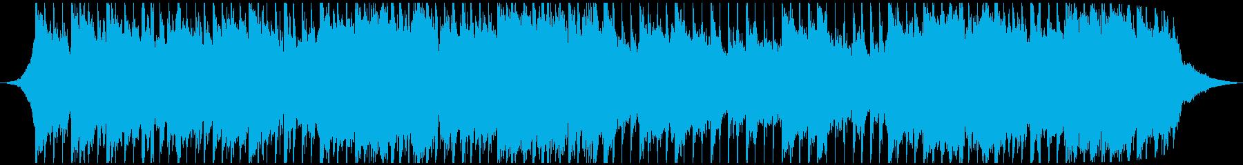 インディーズ ロック アンビエント...の再生済みの波形