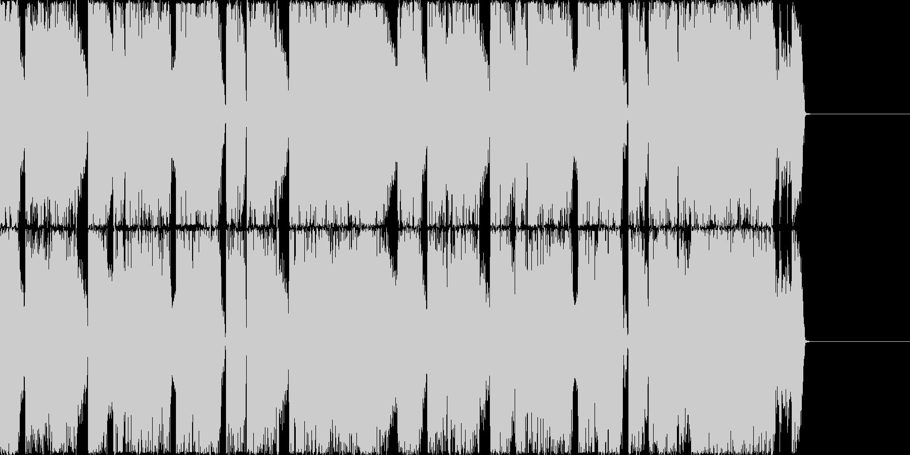 15秒CM_BGM-Bの未再生の波形