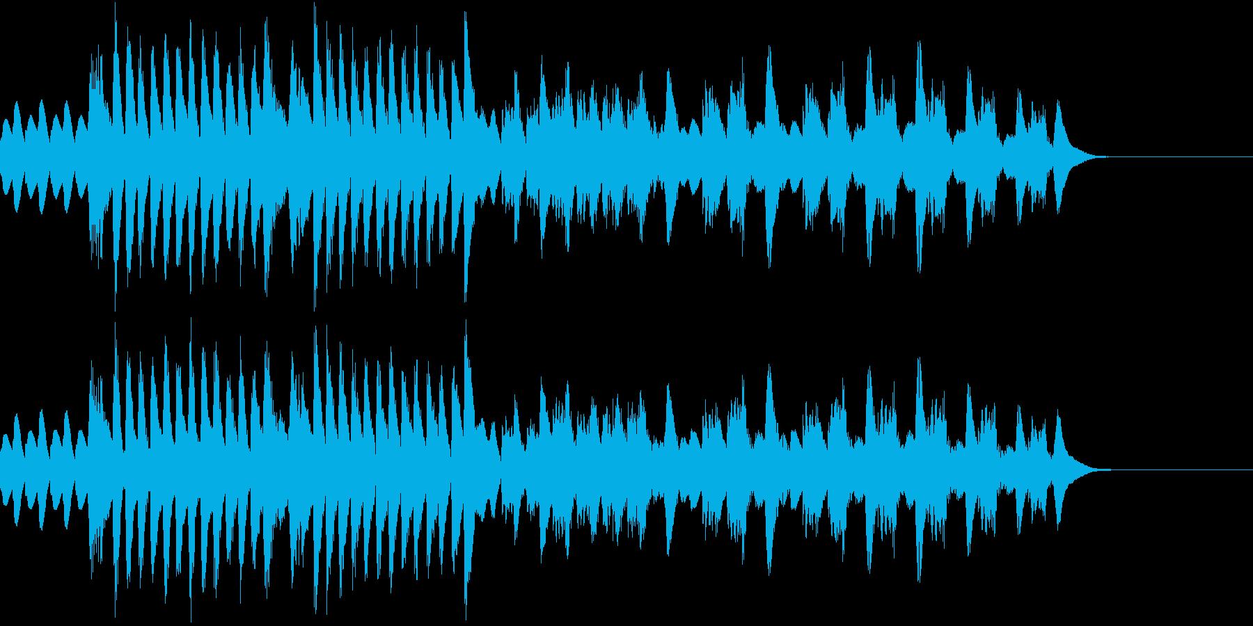 叙情小曲集 妖精トロルの行進 マリンバの再生済みの波形