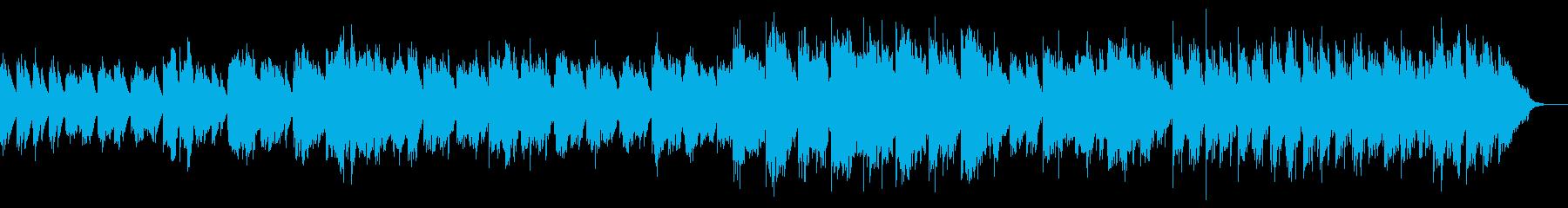温かみのある柔らかい繊細なサウンドの再生済みの波形