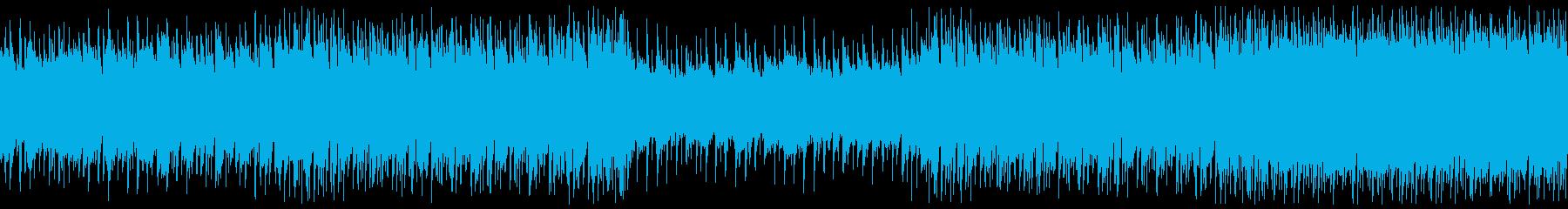 ほのぼのした日常・ウクレレポップ・ループの再生済みの波形