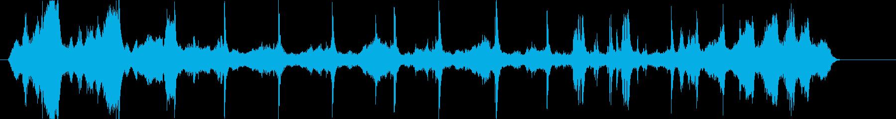 【電気ノイズトレーラー】ブーン バチッの再生済みの波形