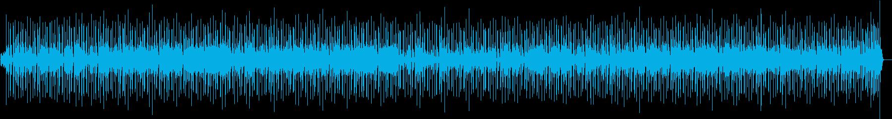 元気でパワーのあるニューオリンズ系ロックの再生済みの波形