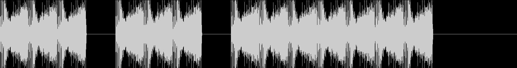 三三七拍子 その7の未再生の波形
