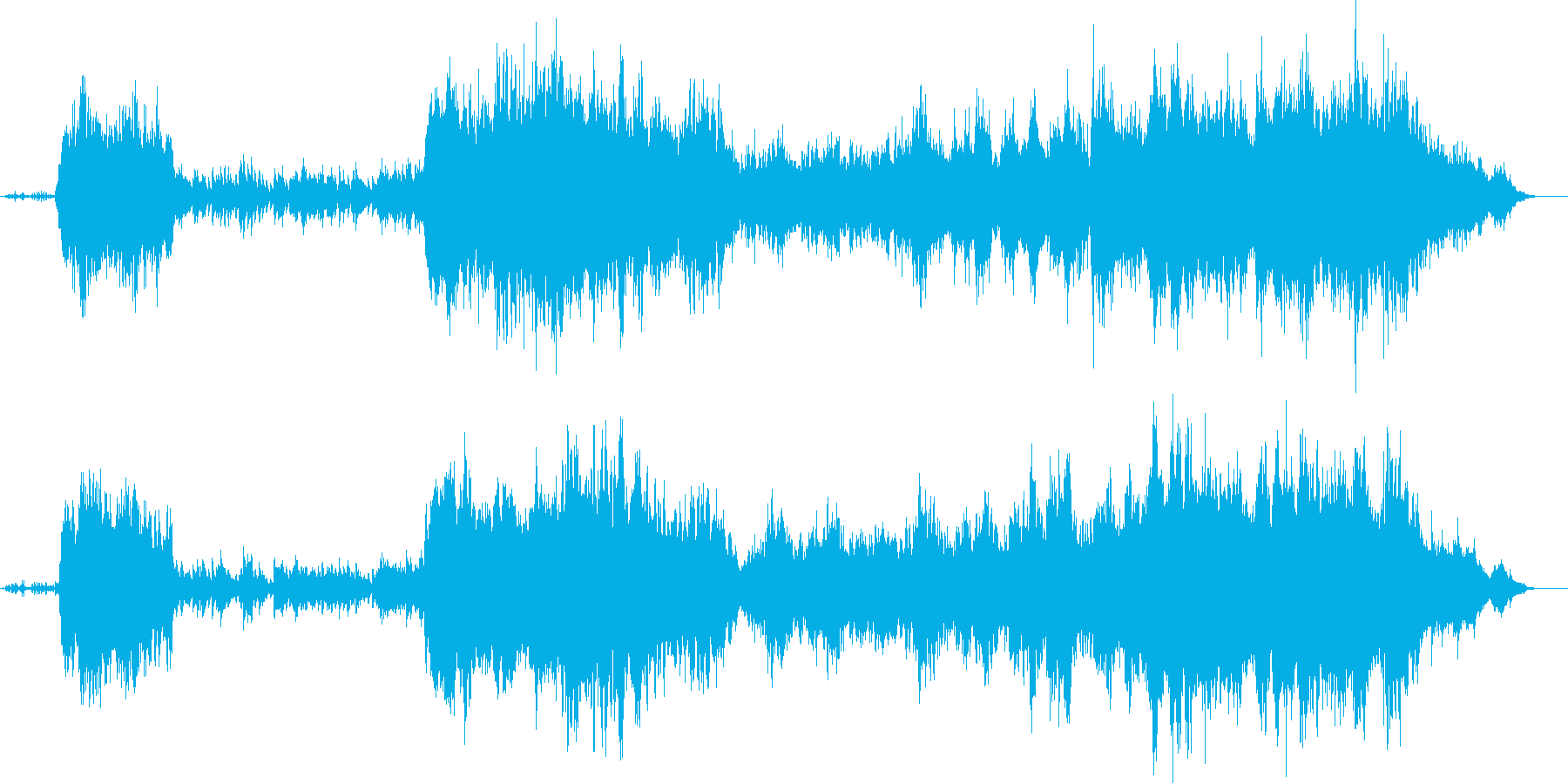 早朝の清々しさを感じる曲/バイオリ生演奏の再生済みの波形