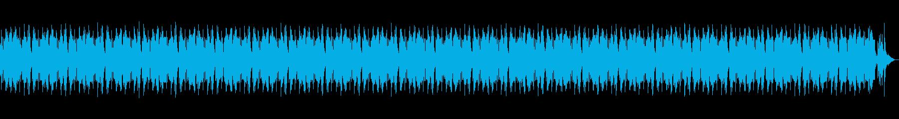 川のせせらぎとハープの森林浴 BGMの再生済みの波形