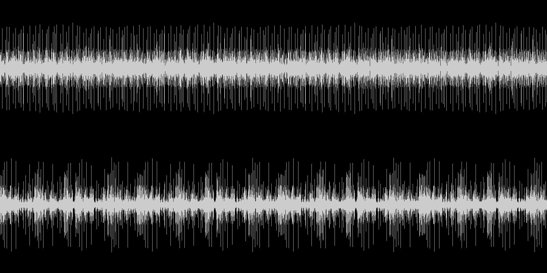 レコードノイズ:ノイズが強いバージョンの未再生の波形