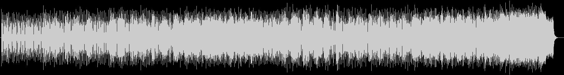 シンセが独特なミュージックの未再生の波形