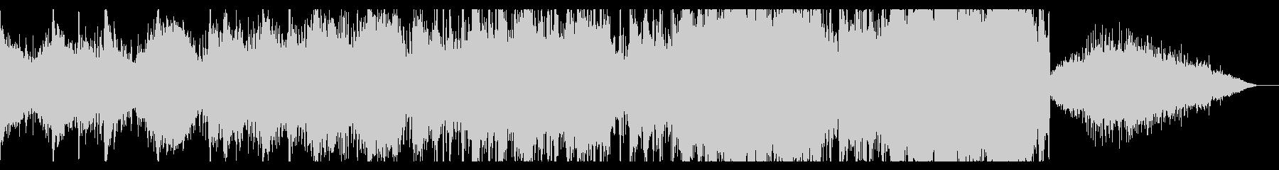 エピックでダークなシネマティックBGMの未再生の波形