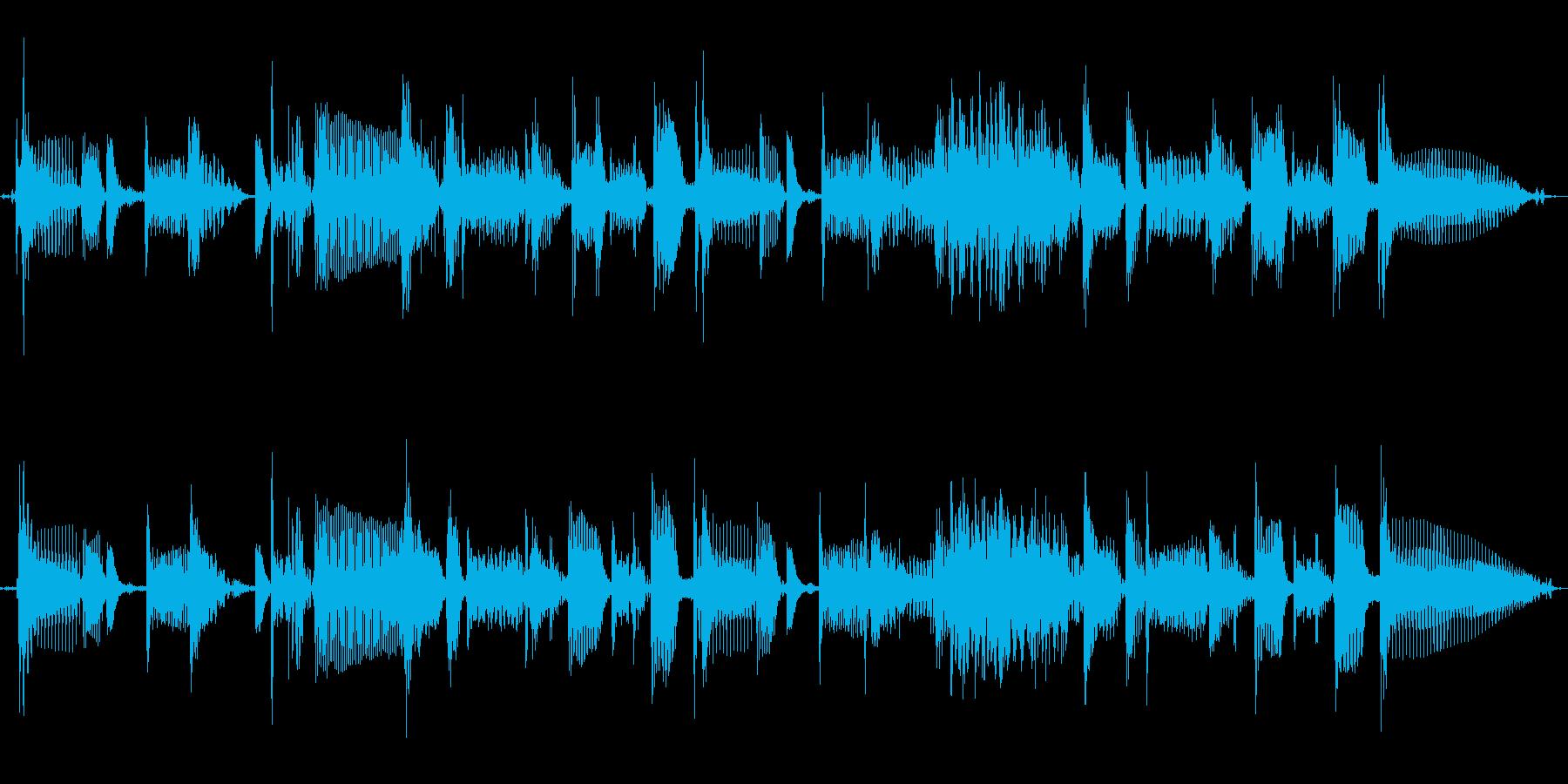 ベース スラップフレーズ ジングル CMの再生済みの波形