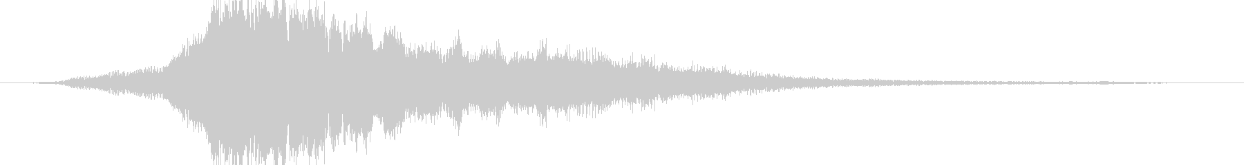 Pleidesロゴ1の未再生の波形