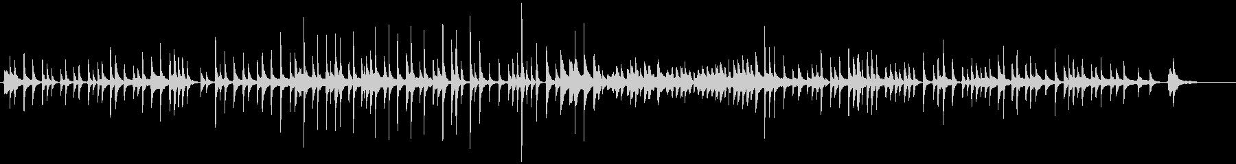 三味線243即興和風ポップスっぽい生い立の未再生の波形