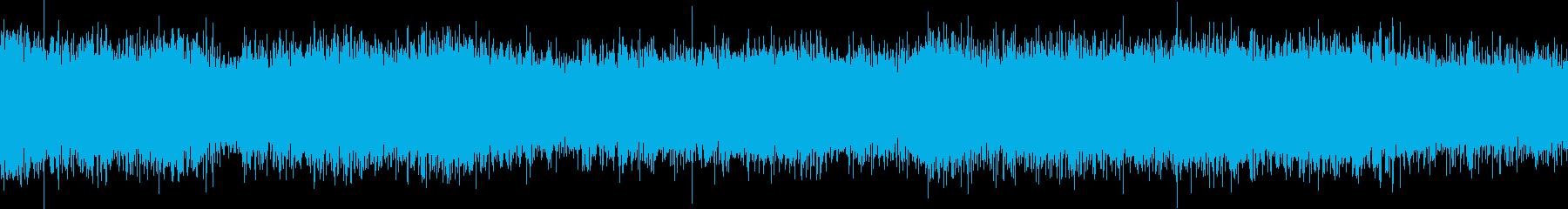 車の走行音(ドイツ)の再生済みの波形