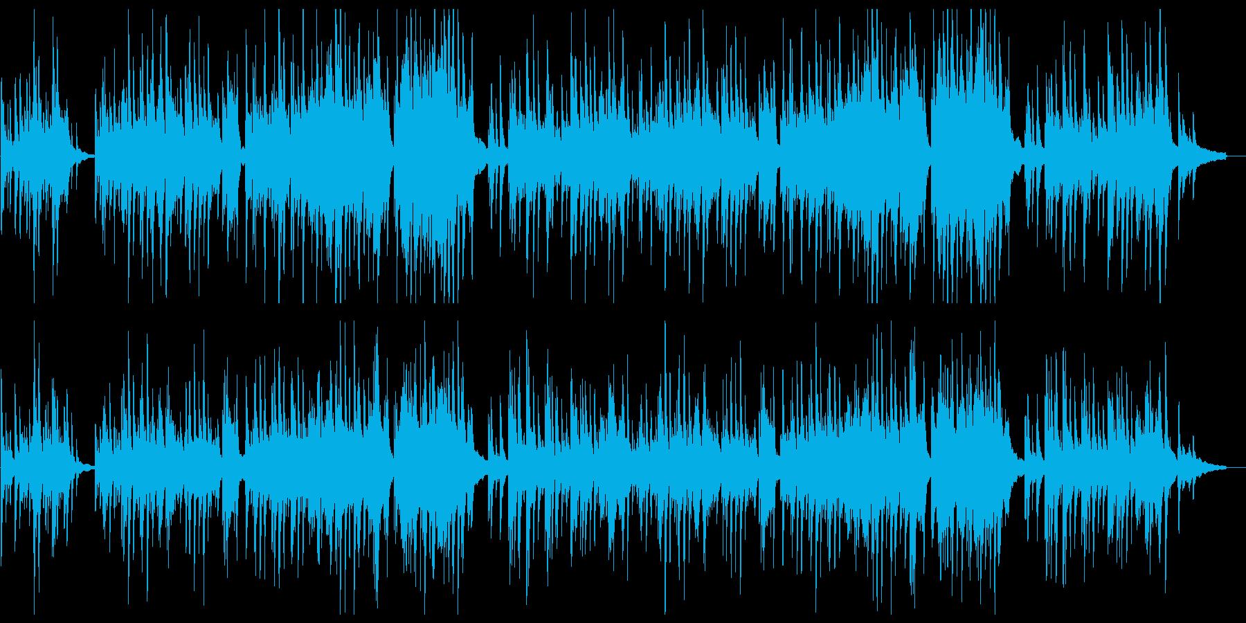 優しく美しいピアノソロの再生済みの波形