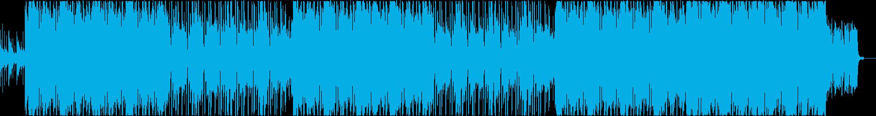 ガムランが印象的なエスニックなクラブ系の再生済みの波形