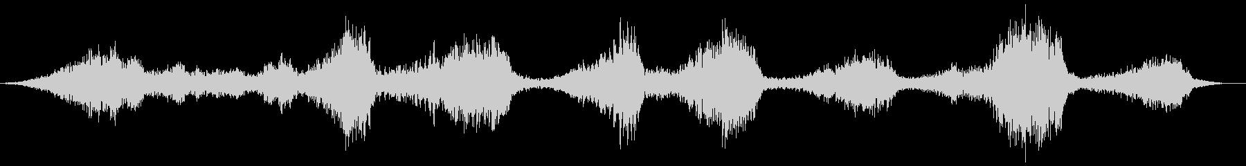 バックワードトーキング、チャイルド...の未再生の波形