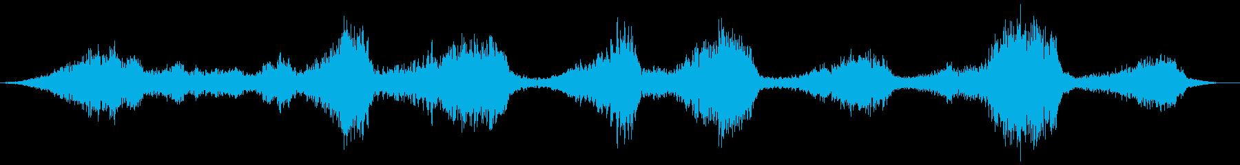 バックワードトーキング、チャイルド...の再生済みの波形