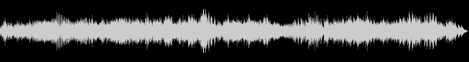 バロック音楽風のピアノ曲ですの未再生の波形