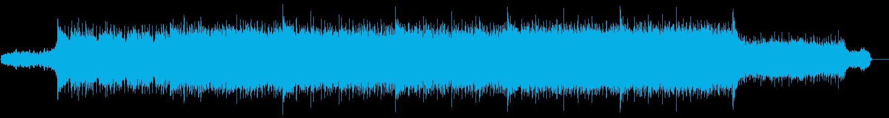 壮大シネマティックBGM 戦闘ゲームCMの再生済みの波形