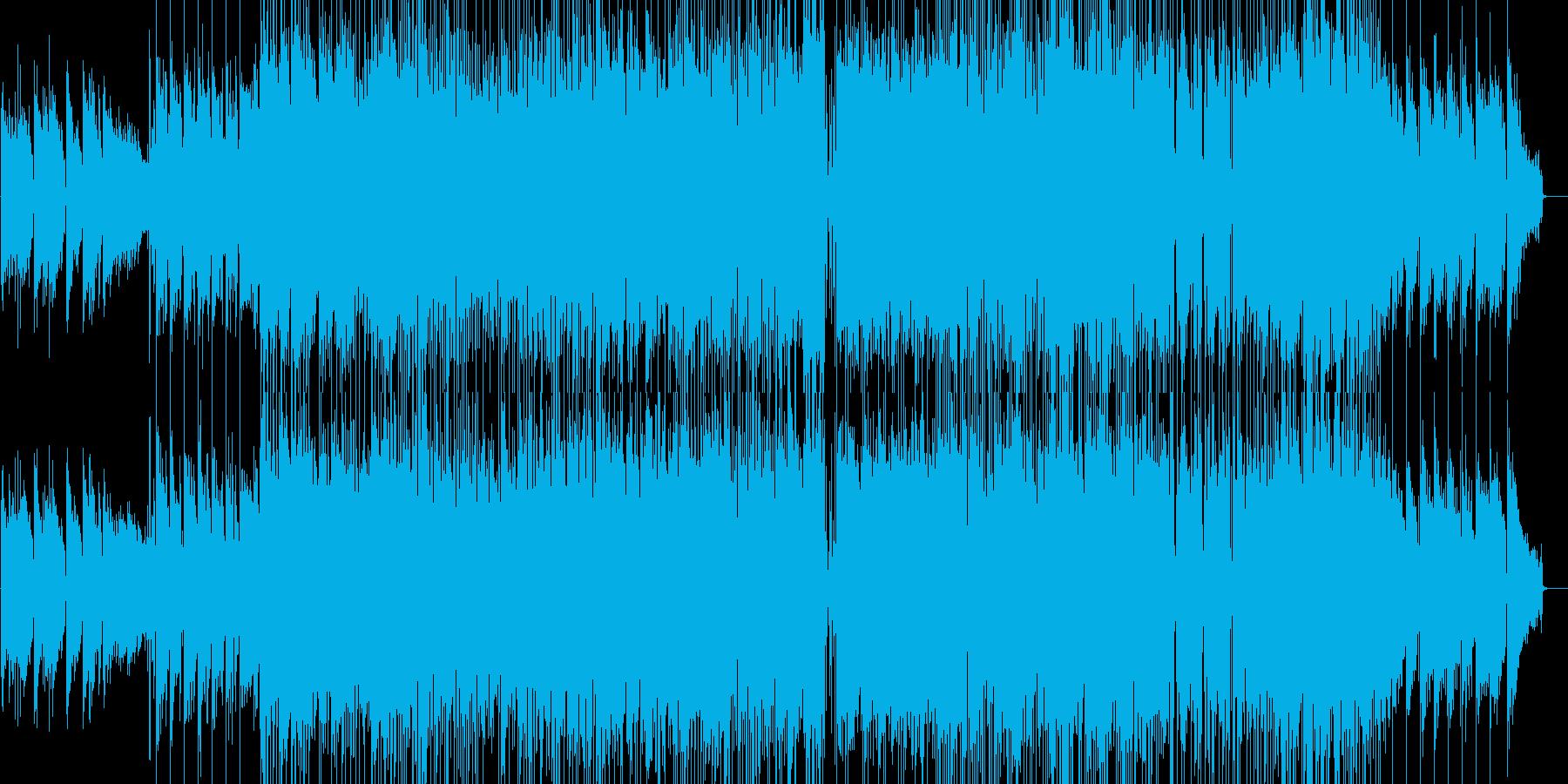 セミアコ生録(Smooth Jazz)の再生済みの波形