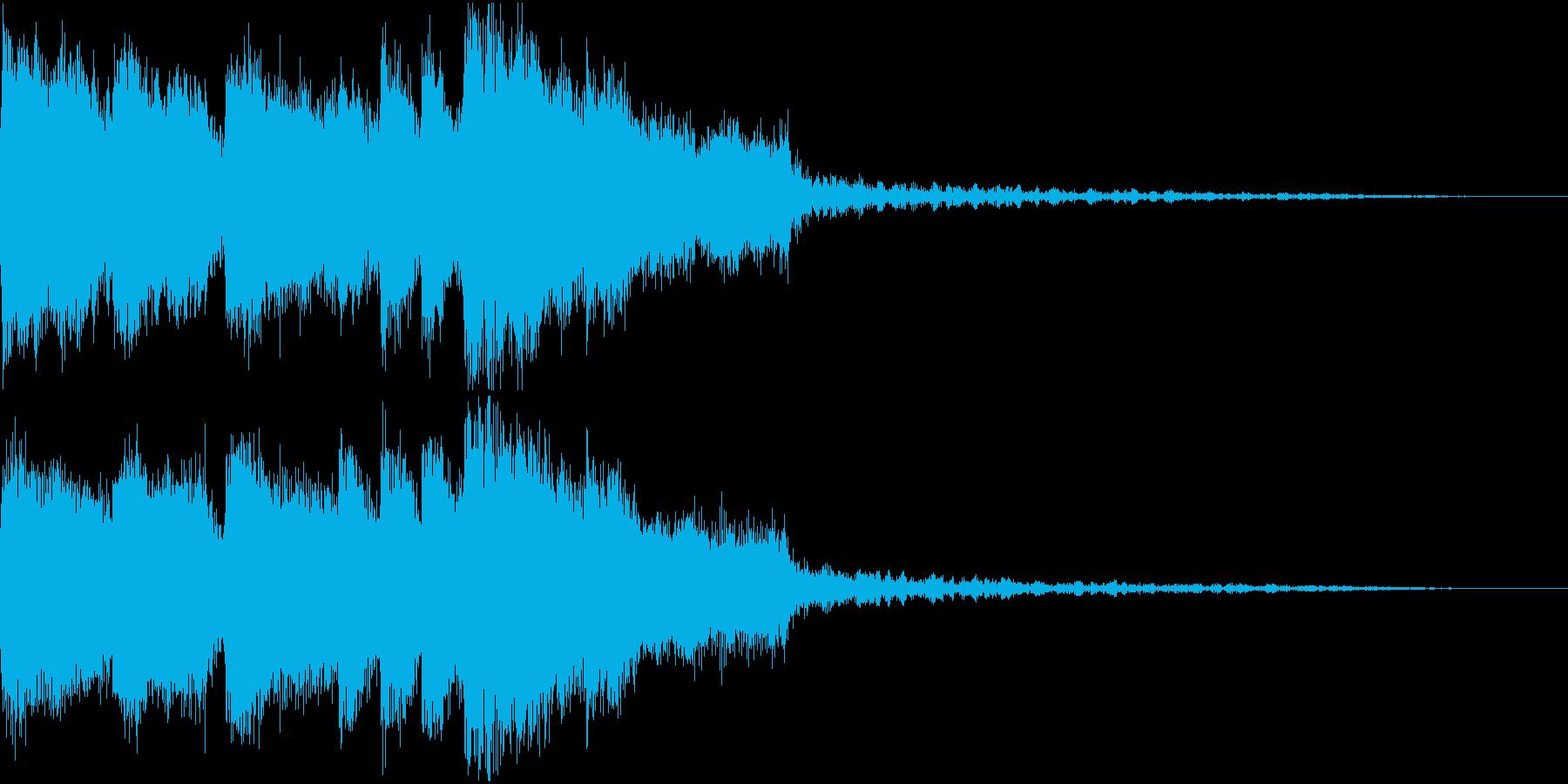 豪華なファンファーレ 達成 成功 Cの再生済みの波形