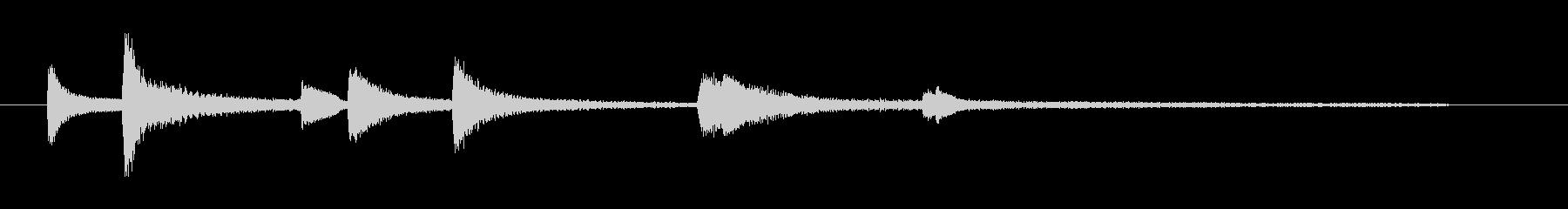 ジャズとクラシックの影響をブレンド...の未再生の波形