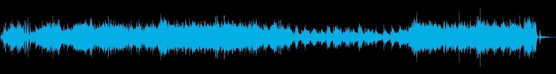 テナーサックスむせび泣きムード歌謡BGMの再生済みの波形