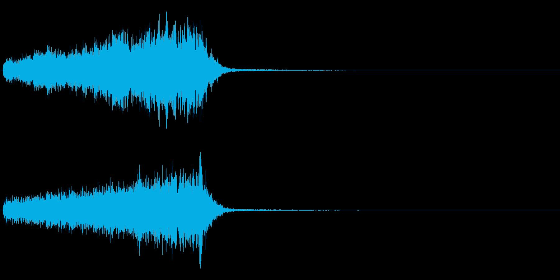 チャージ・充電・能力値アップの再生済みの波形