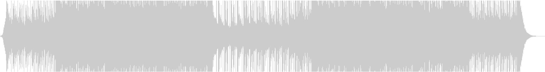 アンビエントミュージック 未来の技...の未再生の波形